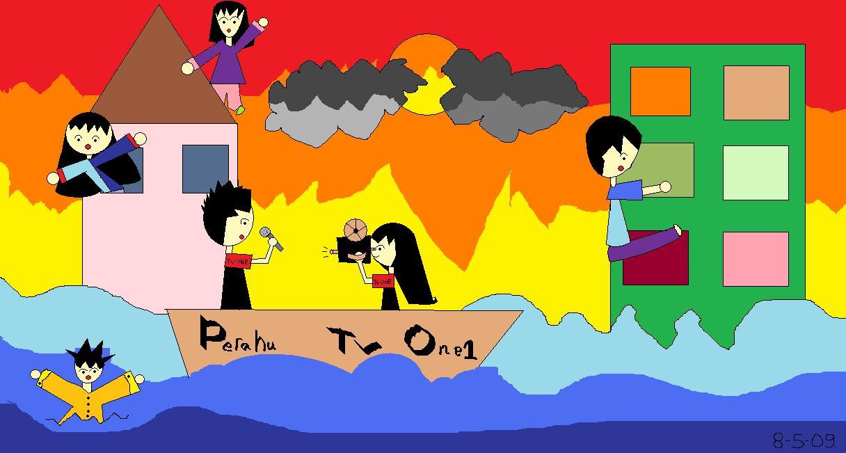 Download 670  Gambar Animasi Kartun Tari Saman HD Terbaik